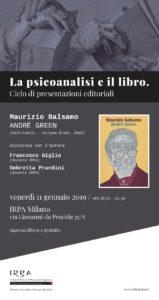 Psicoanalisi e libro - Balsamo